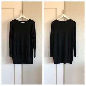 🐚 euc | loft | long sweater dress